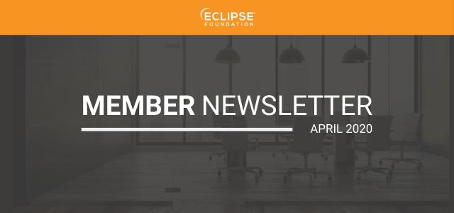 Member Newsletter Header - April 2020
